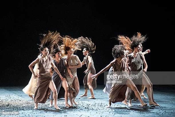 'Sacre' 'Le sacre du printemps' by Igor Strawinsky at the German State Opera in the Schiller Theatre in Berlin musical direction Daniel Barenboim...