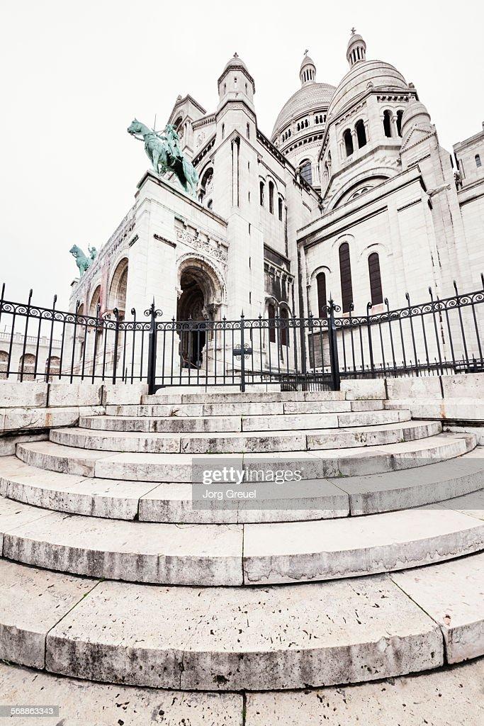 Sacre-Coeur Basilica : Stock Photo