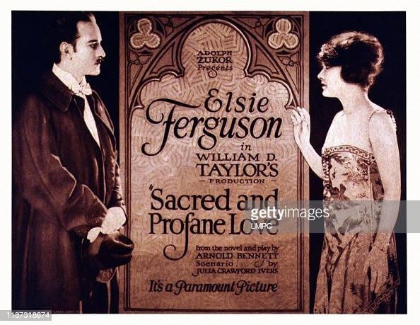 Sacred And Profane Love, poster, US poster, from left ...