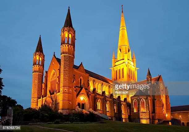 Sacred Heart Cathedral consecrated in 1901 Bendigo Victoria Australia