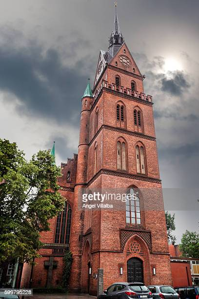 sacred heart church, lübeck - galveston stock pictures, royalty-free photos & images