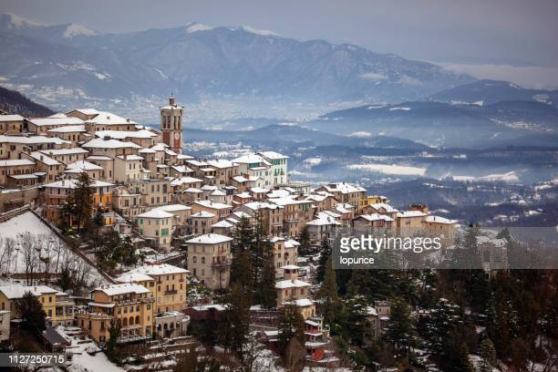sacro monte - varese stock pictures, royalty-free photos & images