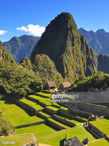 """sacred rock and mt. huayna picchu, peru - """"markus daniel"""" stock pictures, royalty-free photos & images"""