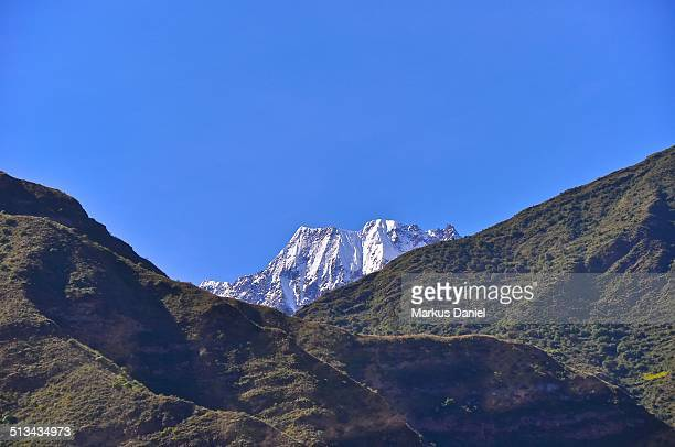 "sacred valley mountains and snow peak, peru - ""markus daniel"" stock pictures, royalty-free photos & images"