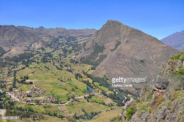 "sacred valley of the incas in pisac, peru - ""markus daniel"" stock pictures, royalty-free photos & images"