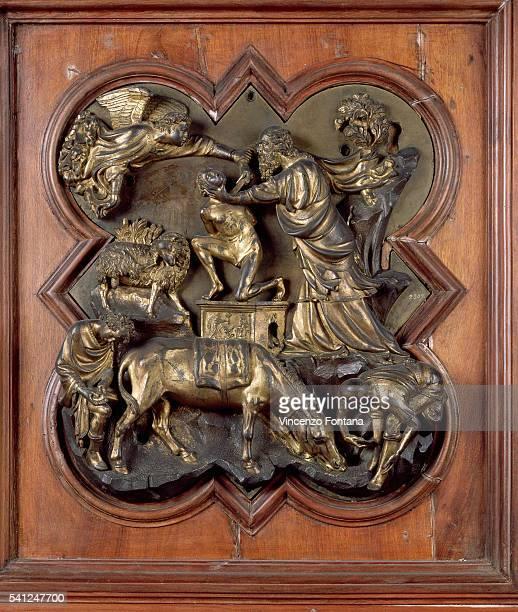 Sacrifice of Isaac by Filippo Brunelleschi
