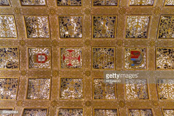 Sacristia Filipina Convent of Christ Convento de Cristo in Tomar It is part of the UNESCO world heritage Europe Southern Europe Portugal April
