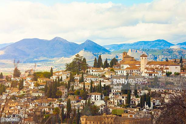 Sacromonte district in Granada
