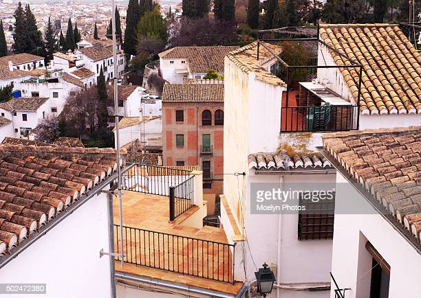 Sacromonte-Granada from above