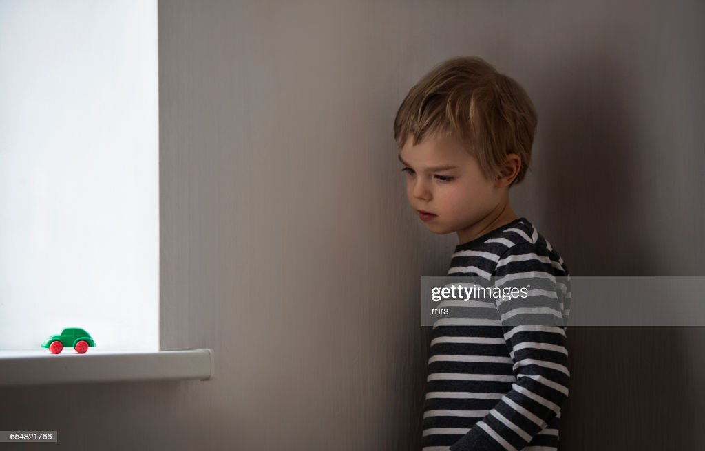 Sad boy : Stock-Foto
