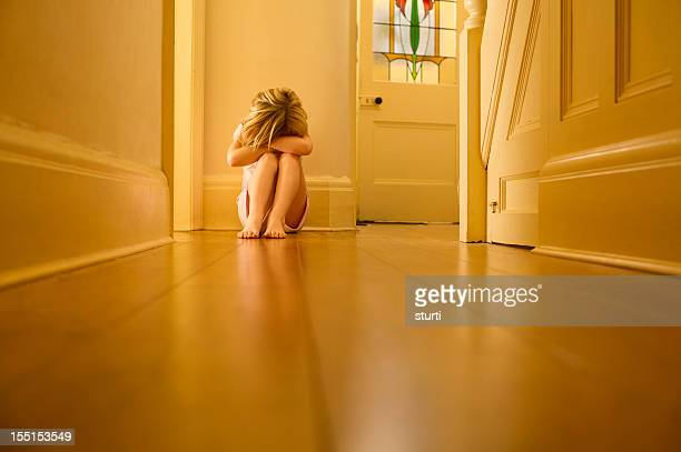 sad child - abuse stock pictures, royalty-free photos & images