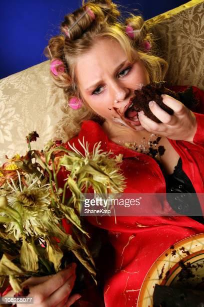 triste trastorno alimentario adicción - bulimia fotografías e imágenes de stock