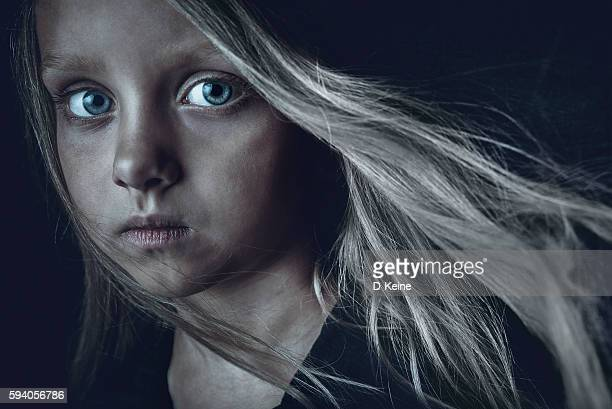 sad girl - dirty little girls photos stock pictures, royalty-free photos & images
