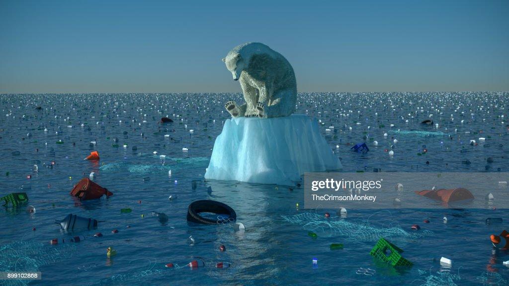 Global Warming - The Polar Bear and the Monkeys