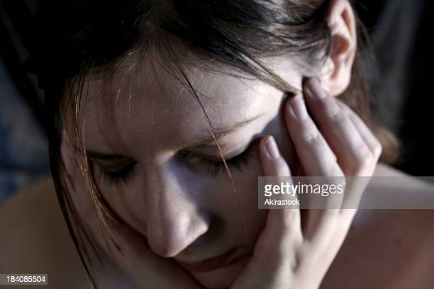 sad woman - sexual violence stock pictures, royalty-free photos & images