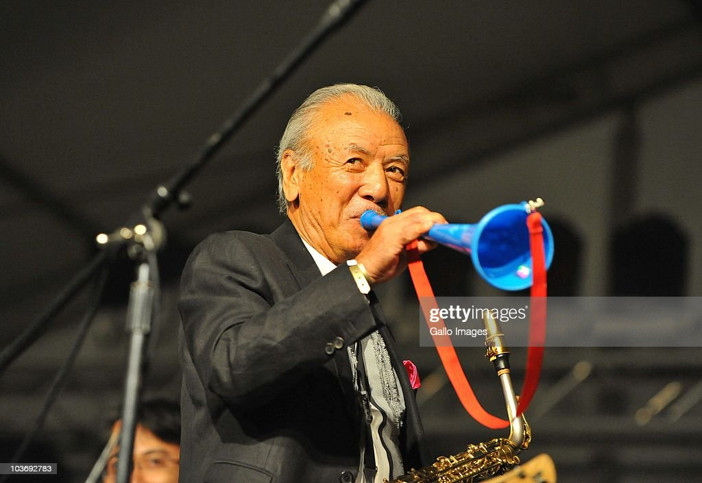 Sadao Watanabe during day 2 of the Standard Bank Joy of Jazz from Newtown on August 27, 2010 in Johannesburg, South Africa.