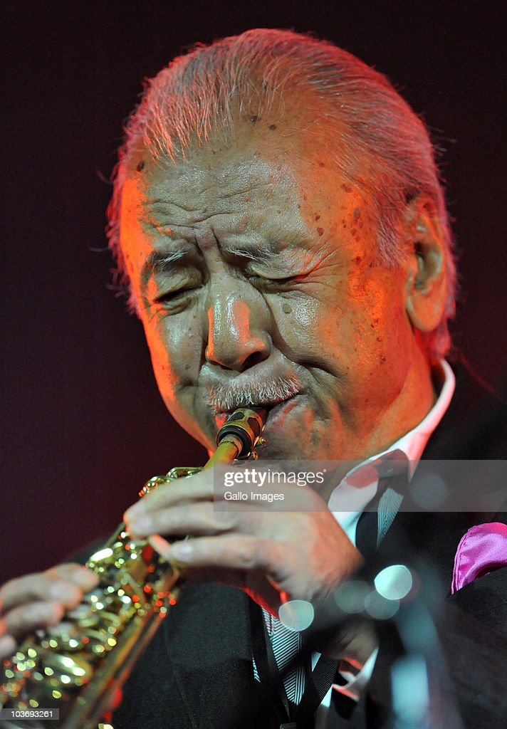 Sadao Watanabe performs during day 2 of the Standard Bank Joy of Jazz from Newtown on August 27, 2010 in Johannesburg, South Africa.