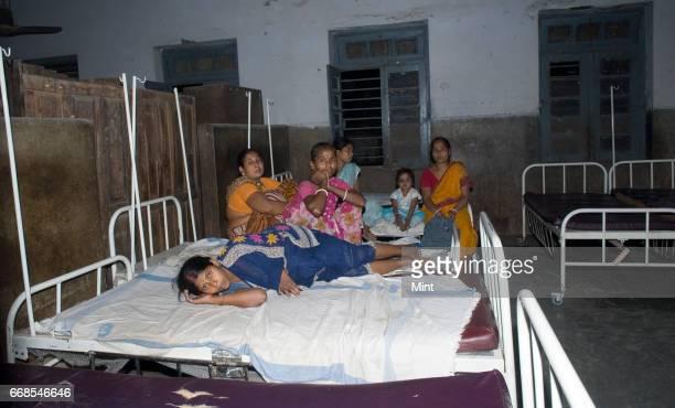 sadar government hospital's maternity ward on April 7 2010 in Hazipur India