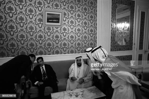 Saddam Hussein Sheikh Zayed bin Sultan alNahyan