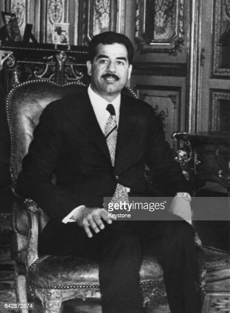 Saddam Hussein Vice President of the Republic of Iraq June 1972