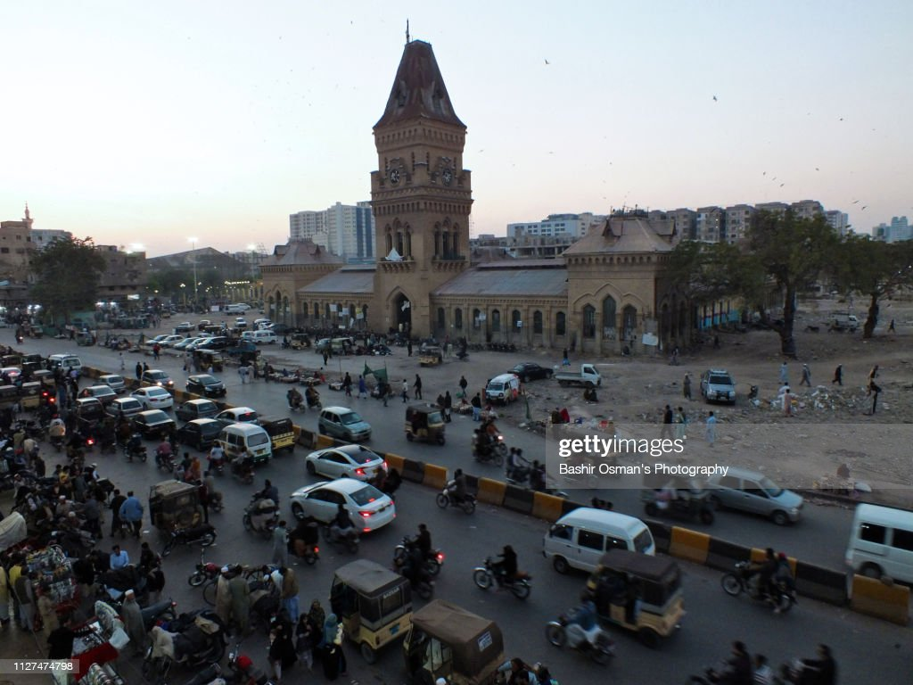 Saddar The Old City Area Of Karachi Stock Photo - Getty Images