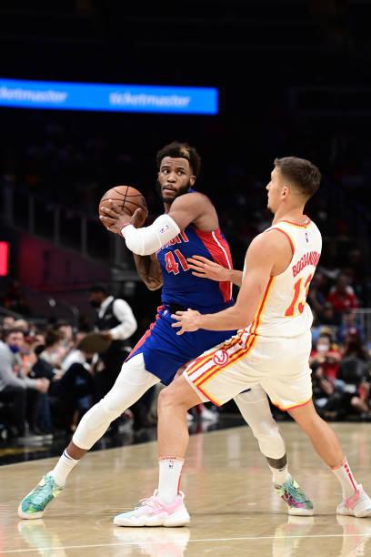 GA: Detroit Pistons v Atlanta Hawks