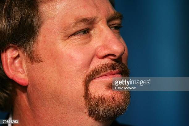 Saddleback Church Pastor Rick Warren attends the second annual Global Summit on AIDS and The Church at Saddleback Church December 1 2006 in Lake...