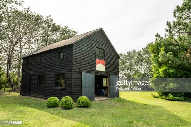 saddler in the yard - pavilion stock pictures, royalty-free photos & images