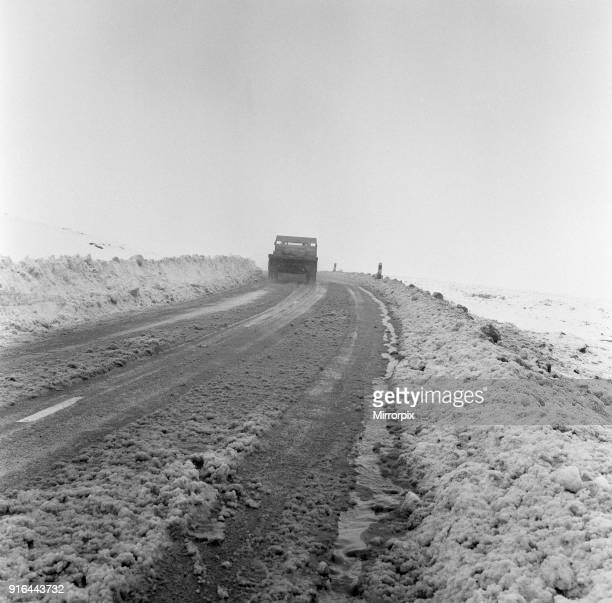 Saddleworth Moor Greater Manchester 25th April 1966