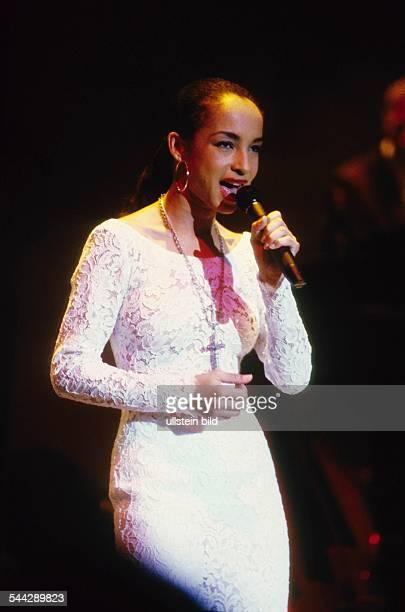 Sade Adu Saengerin Grossbritannien / Nigeria Auftritt 1988