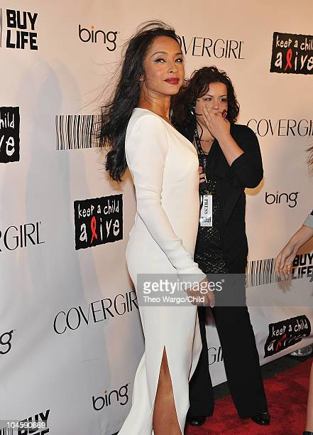 Sade attends Keep A Child Alive's 7th annual Black Ball at Hammerstein Ballroom on September 30 2010 in New York City