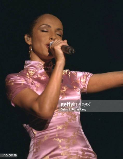 Sade during Sade Live in Concert August 10 2001 at PNC Arts Center in Holmdel New Jersey United States
