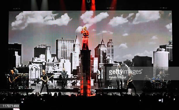 Sade performs at 1st Mariner Arena on June 16 2011 in Baltimore Maryland