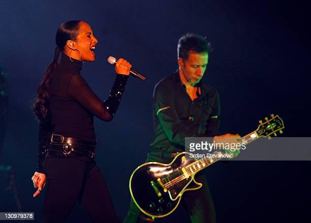 Sade performs at Belgrade Arena on October 30 2011 in Belgrade Serbia