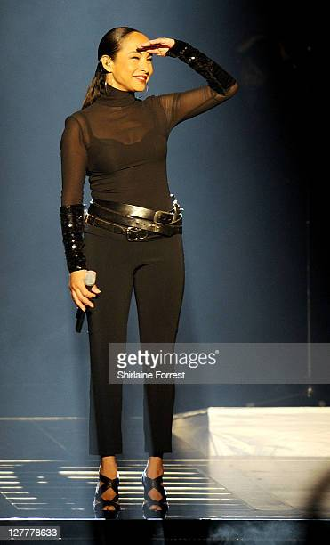 Sade performs at MEN Arena on May 27 2011 in Manchester England