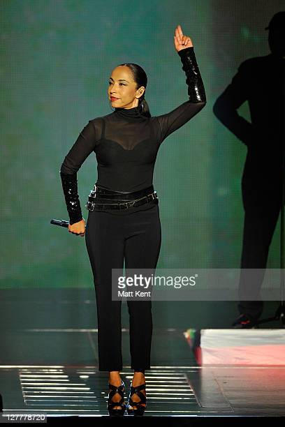 Sade performs at the O2 Arena on May 31 2011 in London England