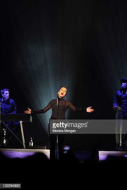 Sade performs at The Palace of Auburn Hills on August 3 2011 in Auburn Hills Michigan