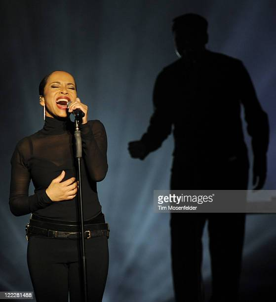 Sade performs in support of her Soldier of Love release at Oracle Arena on August 26 2011 in Oakland California