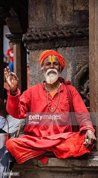 Sadhu - holy man in Nepal