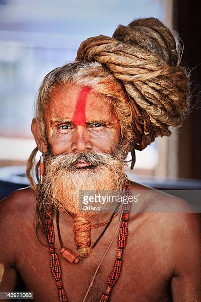 Sadhu - holy man with dreads