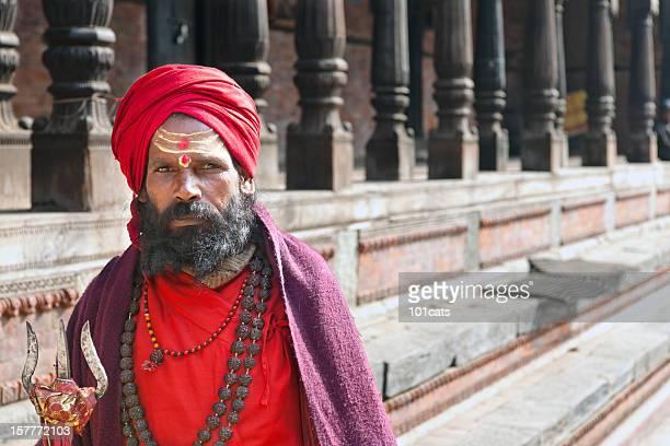 Sadhu in Nepalese