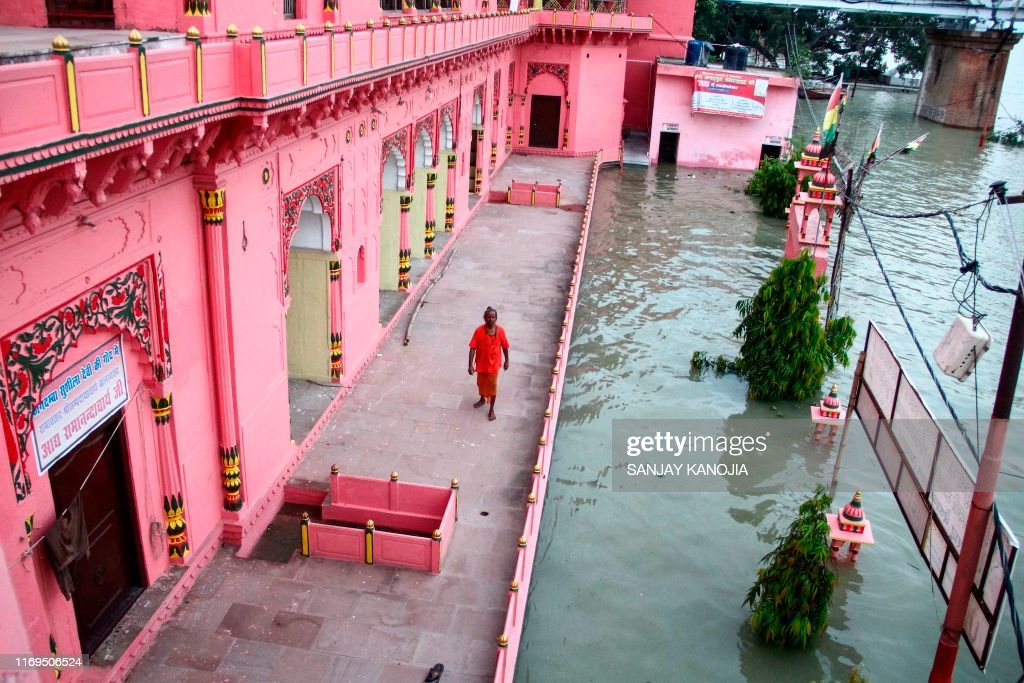 INDIA-WEATHER-FLOODS : News Photo