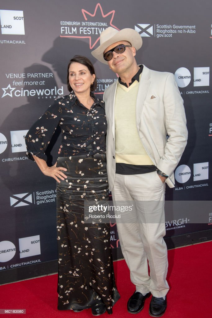Sadie Frost and Billy Zane attend a photocall for the World Premiere of 'Lucid' during the 72nd Edinburgh International Film Festival at Cineworld on June 23, 2018 in Edinburgh, Scotland.