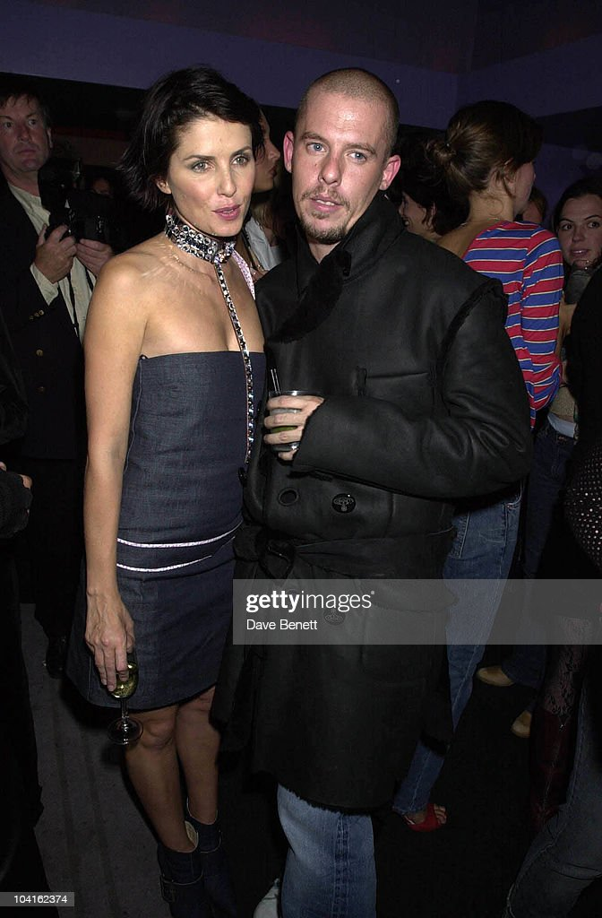 New fashion parnership frostfrench pictures getty images sadie frost and designer alexander mcqueen the new fashion parnership frostfrench threw a party at aloadofball Images