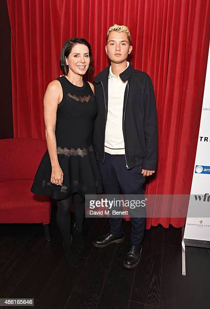 Sadie Frost and Rafferty Law attend the UK Premiere of 'Buttercup Bill' at Curzon Soho on September 1 2015 in London England