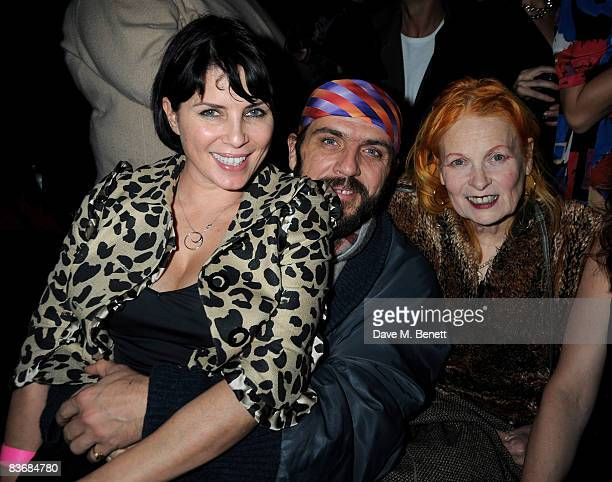 Sadie Frost Andreas Kronthaler and Vivienne Westwood attend the Pirate Provocateur Extravaganza launch party for the new Agent Provocateur Winter...