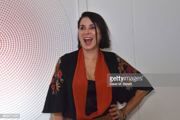 Sadie Frost attends a private view of artist Chemical X's new exhibition 'CX300' at The Vinyl Factory on September 28 2017 in London England