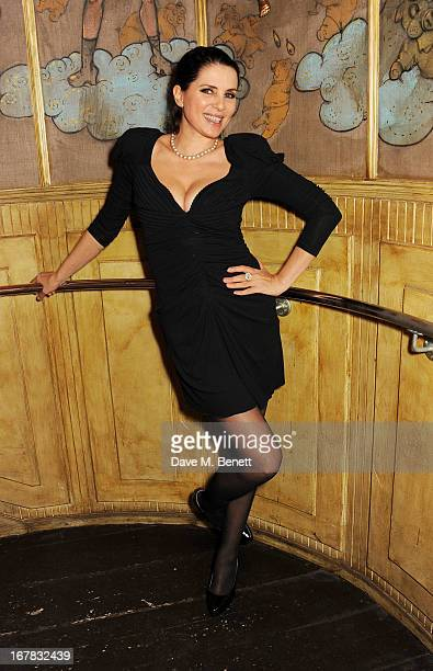 Sadie Frost attends Fran Cutler's surprise birthday party supported by ABSOLUT Elyx at The Box Soho on April 30 2013 in London England