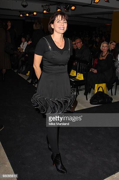 Sadie Frost attends the Anglomania show by Vivienne Westwood at Selfridges on November 16 2009 in London England