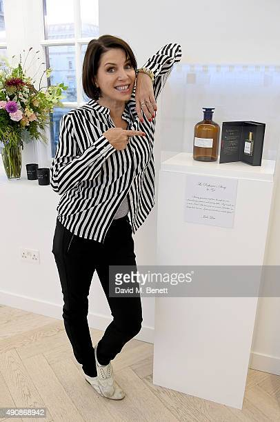 Sadie Frost attends the Azzi Glasser Fragrance Launch at Harvey Nichols on October 1 2015 in London United Kingdom